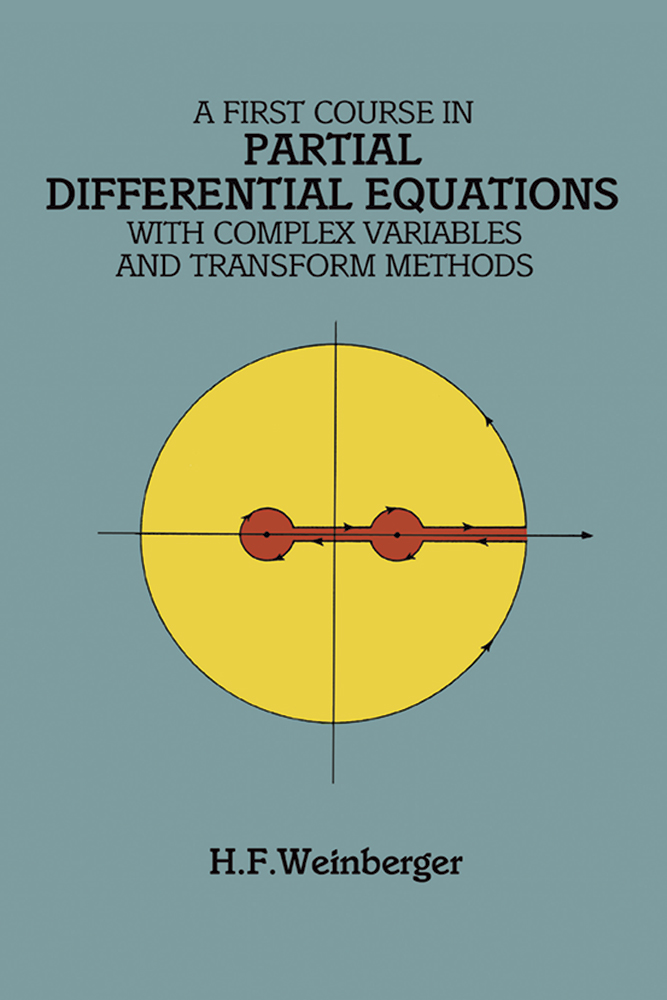 PARTIAL DIFFERENTIAL EQUATIONS A FIRST COURSE IN